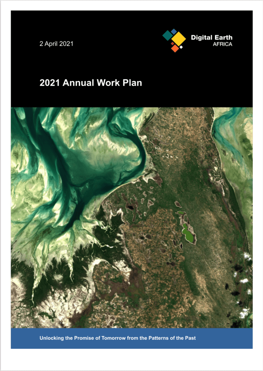 Annual Plan 2021 front page